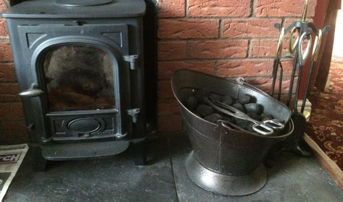 A solid fuel stove