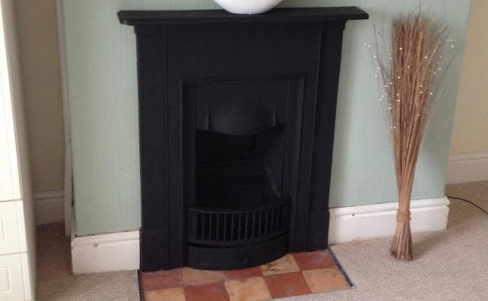 Get your chimney swept in a new house