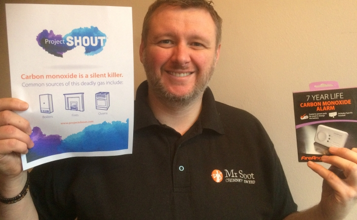 Carbon monoxide alarms save lives says Wigan and Stockport chimney sweep Mr Soot