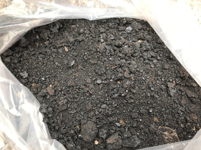 Bag of tar from a chimney.jpg